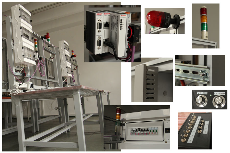 stół laboratoryjny PLC